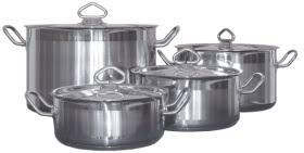 никилированная посуда