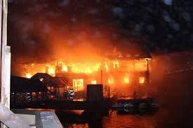 пожар в ресторане