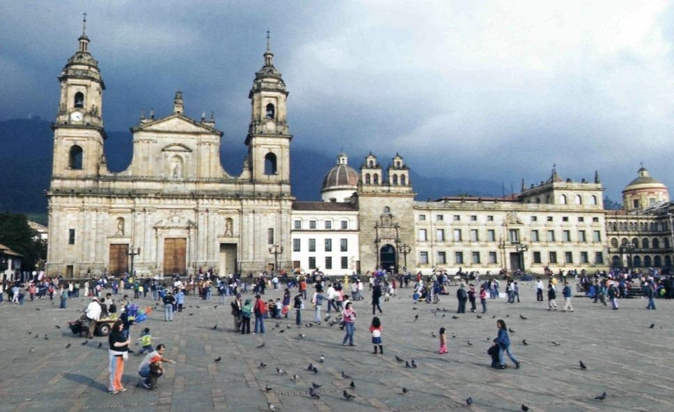 Площадь Боливара в Боготе