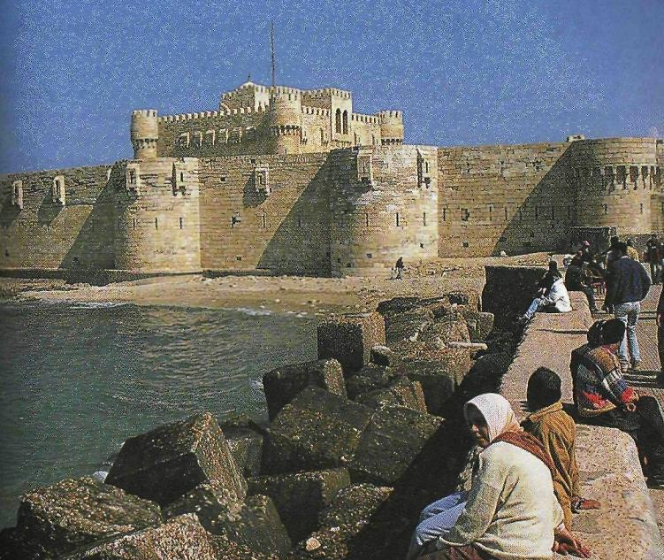 крепость кайт бея