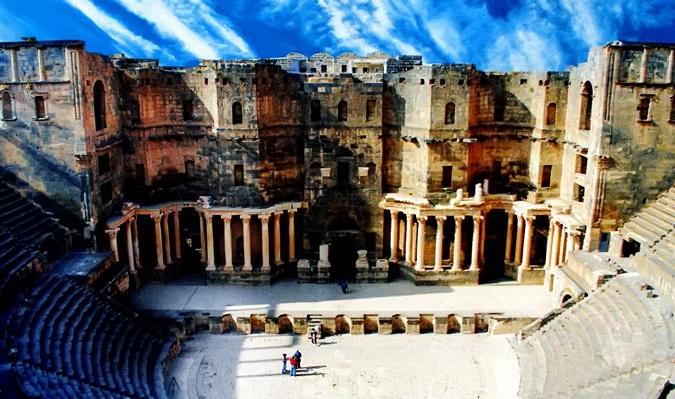 римский амфитеатр в Босре