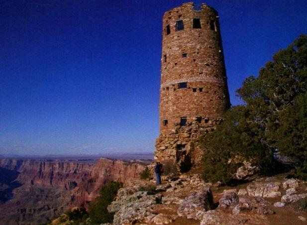 смотровая башня в Гранд-Каньоне