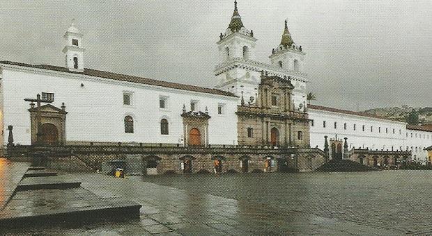 монастырь францисканцев в Кито