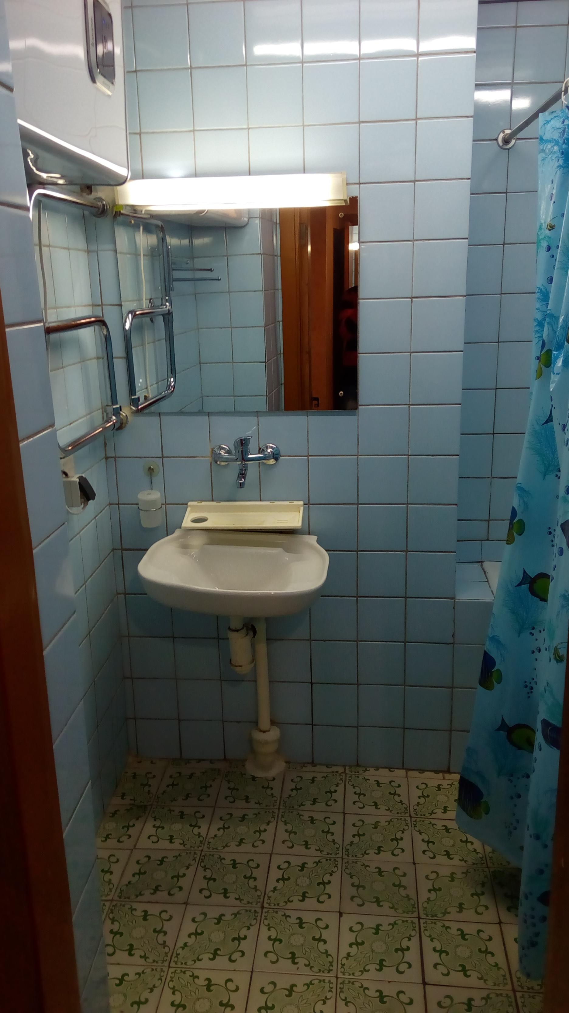Ванная комната в отеле Украины