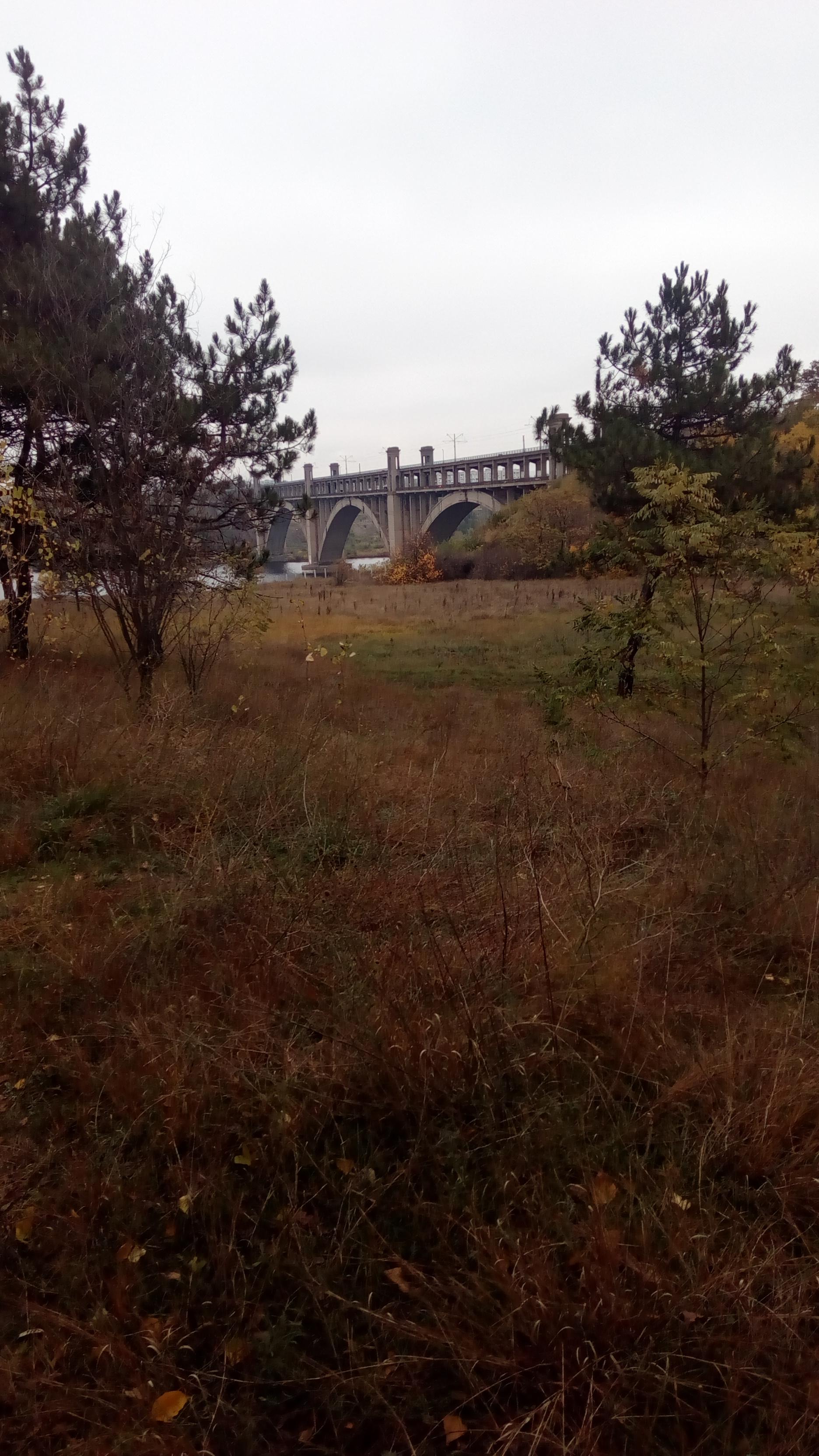 Преображенский мост запорожья