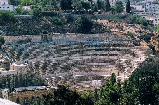 фото амфитеатра Аммана