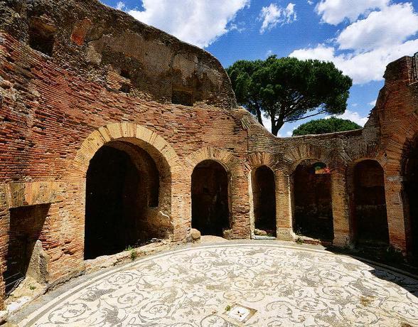 археологический парк Остия Антика