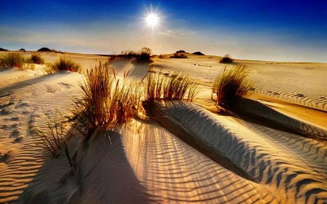 дюны померании