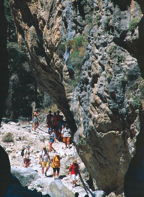 ущелье на Крите