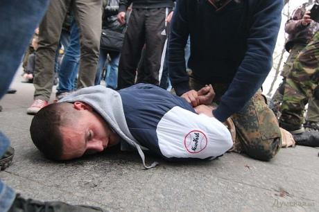 избиение антимайдановцев в одессе